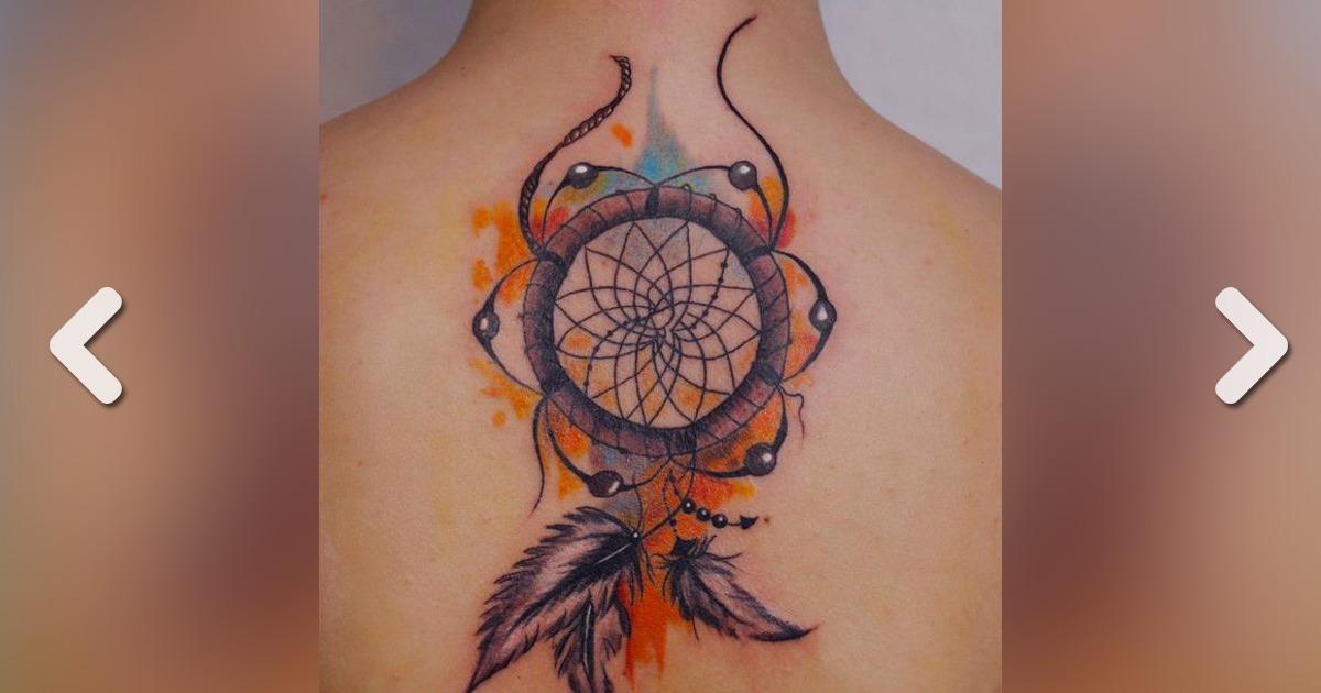 traumf nger tattoo 20 tattoo ideen zur inspiration. Black Bedroom Furniture Sets. Home Design Ideas