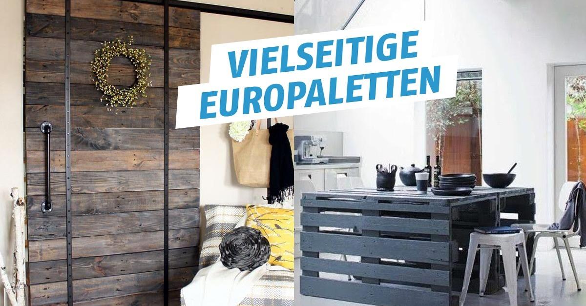 11 ideen f r europaletten. Black Bedroom Furniture Sets. Home Design Ideas