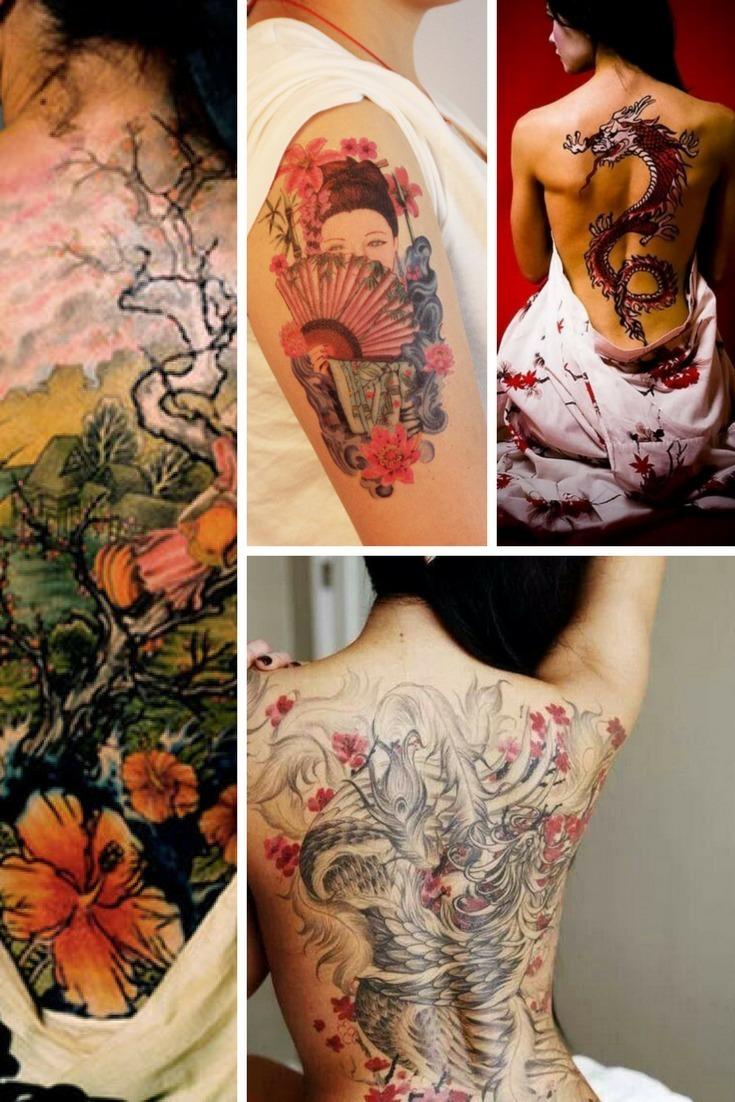 Japanisches Tattoo: Die 20 schönsten japanischen