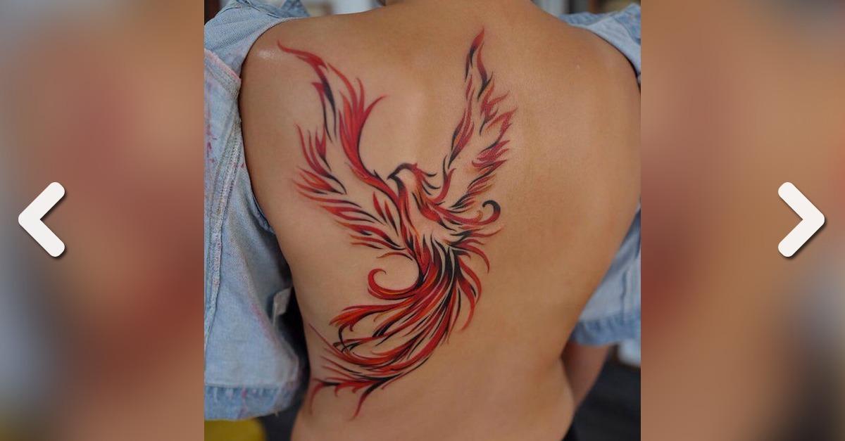 Phönix Tattoo 20 Edle Tattoo Ideen Für Frauen