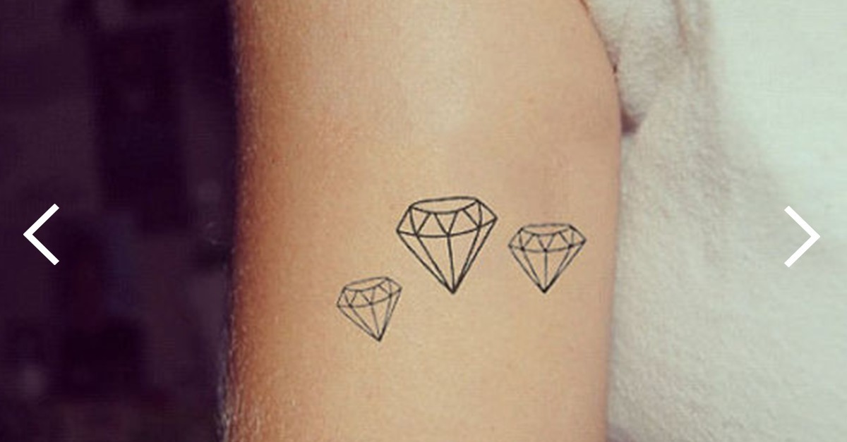 Diamant Tattoo 20 Schöne Tattoo Ideen Zur Inspiration