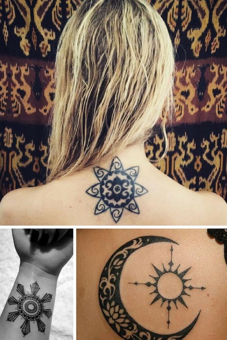 Sonnen Tattoo 20 Tattoo Ideen Für Frauen Und Mädchen