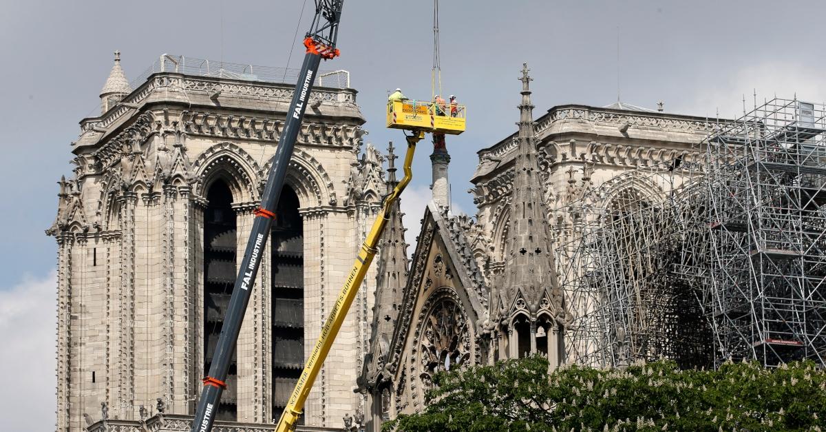 Notre-Dame: So soll die Kathedrale wieder aufgebaut werden