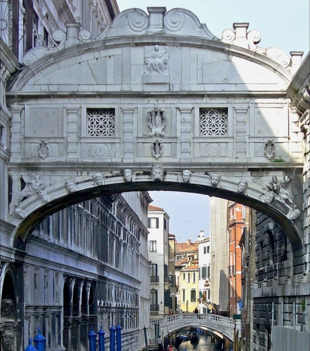 Venedig: Die Seufzerbrücke in Bildern