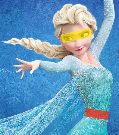 Bei Disney-Prinzessinnen sind die Augen im wahrsten Sinne des Wortes größer als der Magen