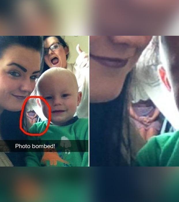 Gruselige Selfies und Fotos