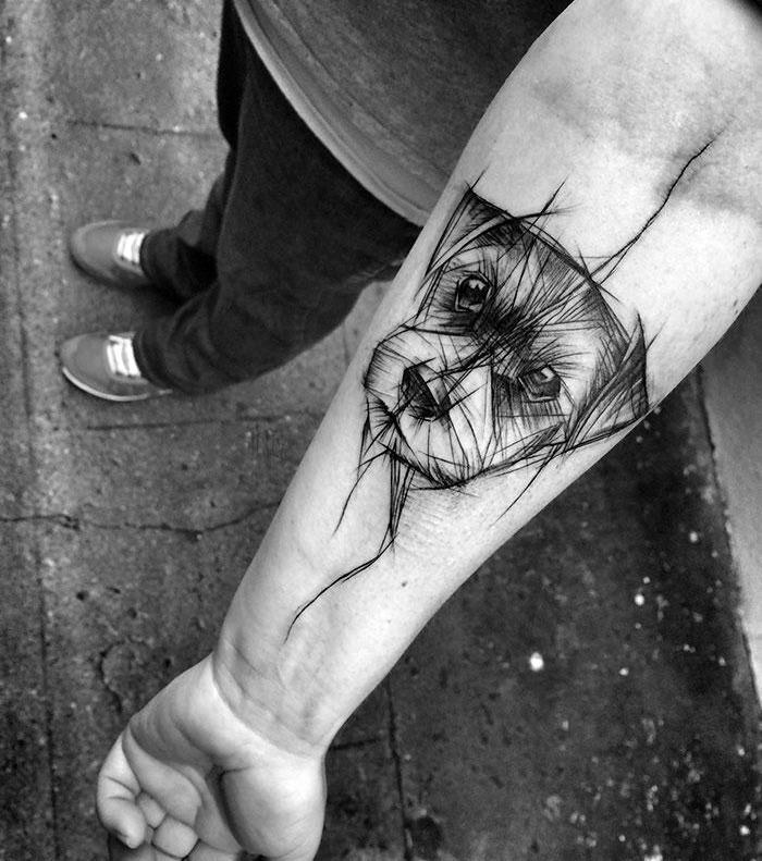 Diese Hunde-Tattoos machen Lust auf echte Körperkunst!