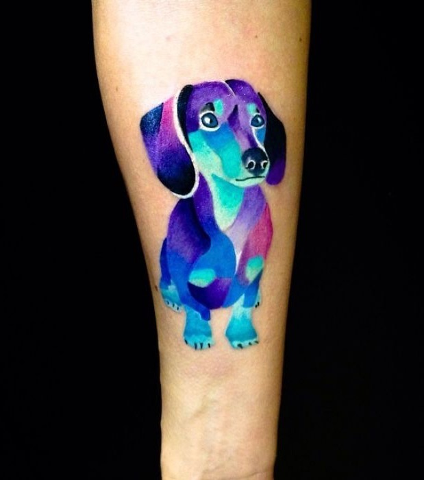 diese hunde tattoos machen lust auf echte k rperkunst. Black Bedroom Furniture Sets. Home Design Ideas