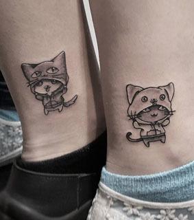 Tattoo-Ideen für beste Freunde