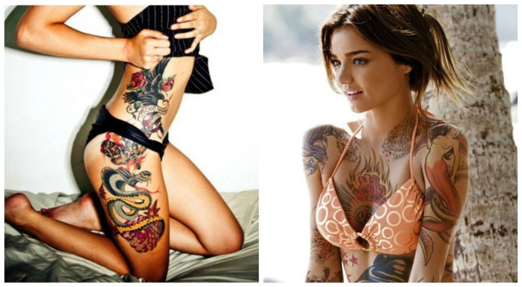 Stark und sexy: Die verführerischsten Tattoo-Ideen für Frauen