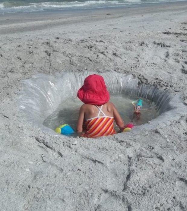 15 gute Ideen, um Eltern am Strand das Leben zu erleichtern