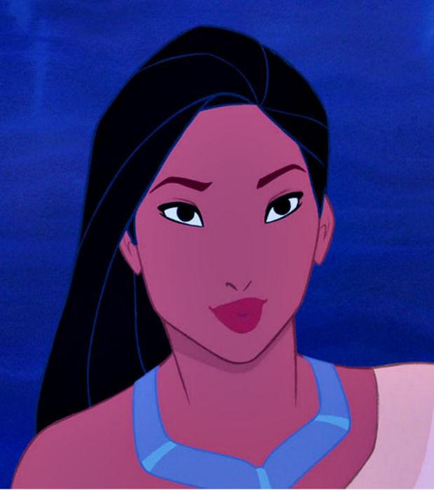 So würden Disney-Prinzessinnen ungeschminkt aussehen!