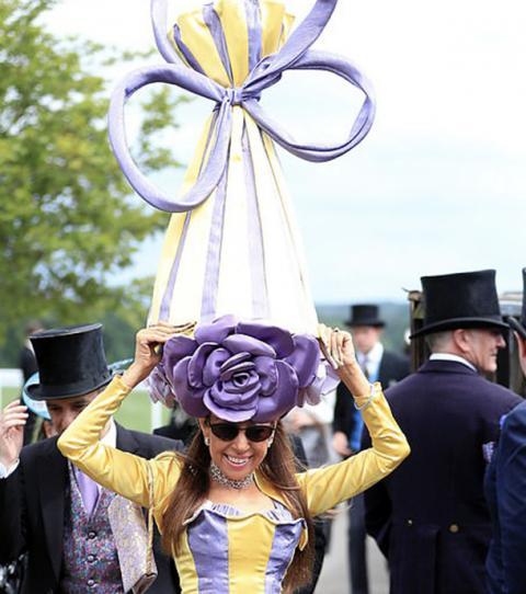 Royal Ascot: Hier seht ihr die verrücktesten Hüte der britischen High Society