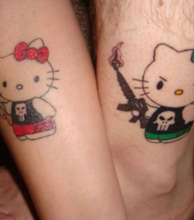 Tattoos Die Sich Ergänzen : 15 partner tattoos die sich gegenseitig erg nzen ~ Frokenaadalensverden.com Haus und Dekorationen