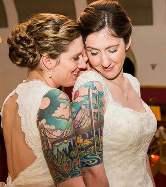 Partner-Tattoo: 15 Pärchen-Motive zur Inspiration