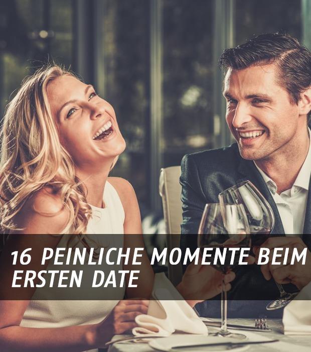Top 16 der peinlichsten Momente beim ersten Date