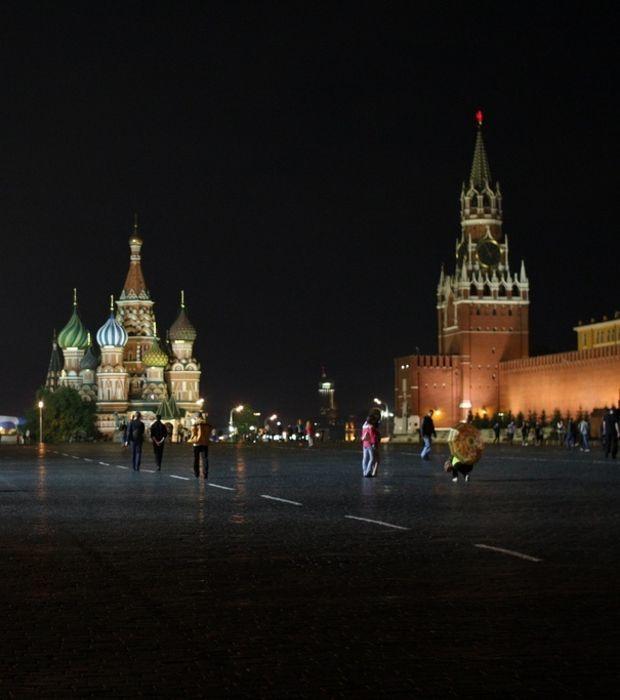 Der Rote Platz in Moskau, das Wahrzeichen Russlands