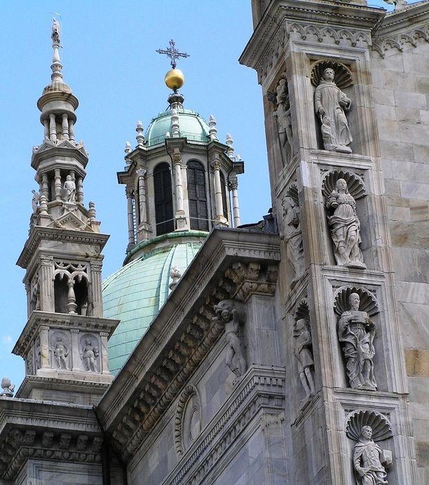 Der Dom von Como, die prächtige Kathedrale Santa Maria Assunta, in Bildern