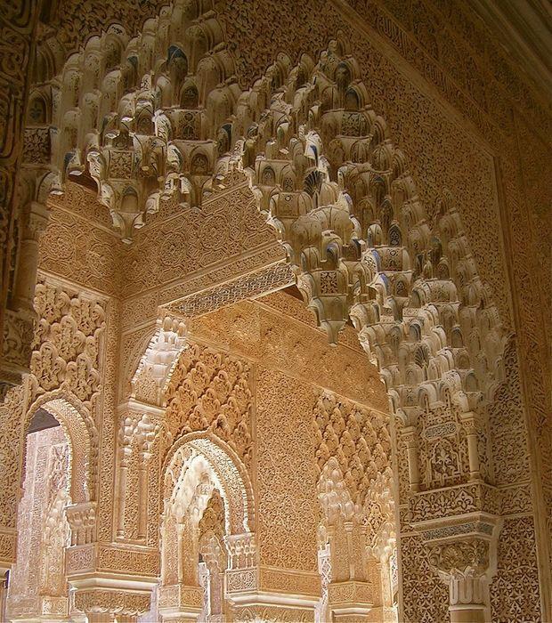 Pracht und Schönheit der Alhambra in Granada