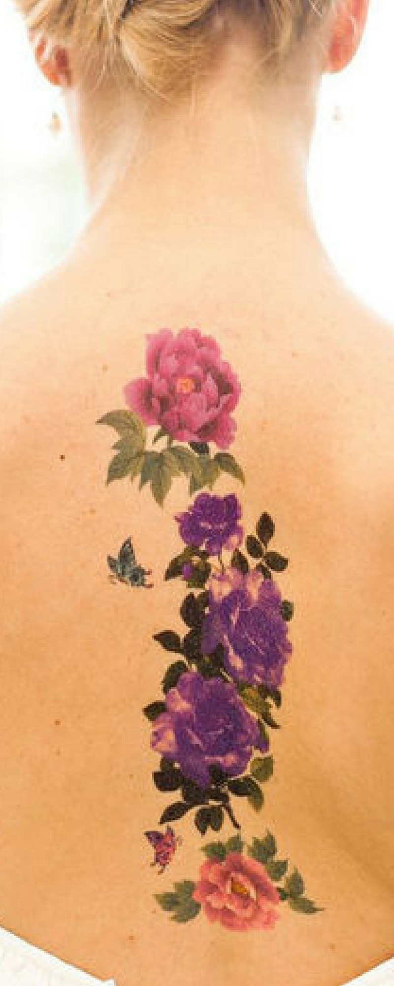 Blumen-Tattoo: 20 Tattoo-Vorlagen zur Inspiration für alle Körperpartien