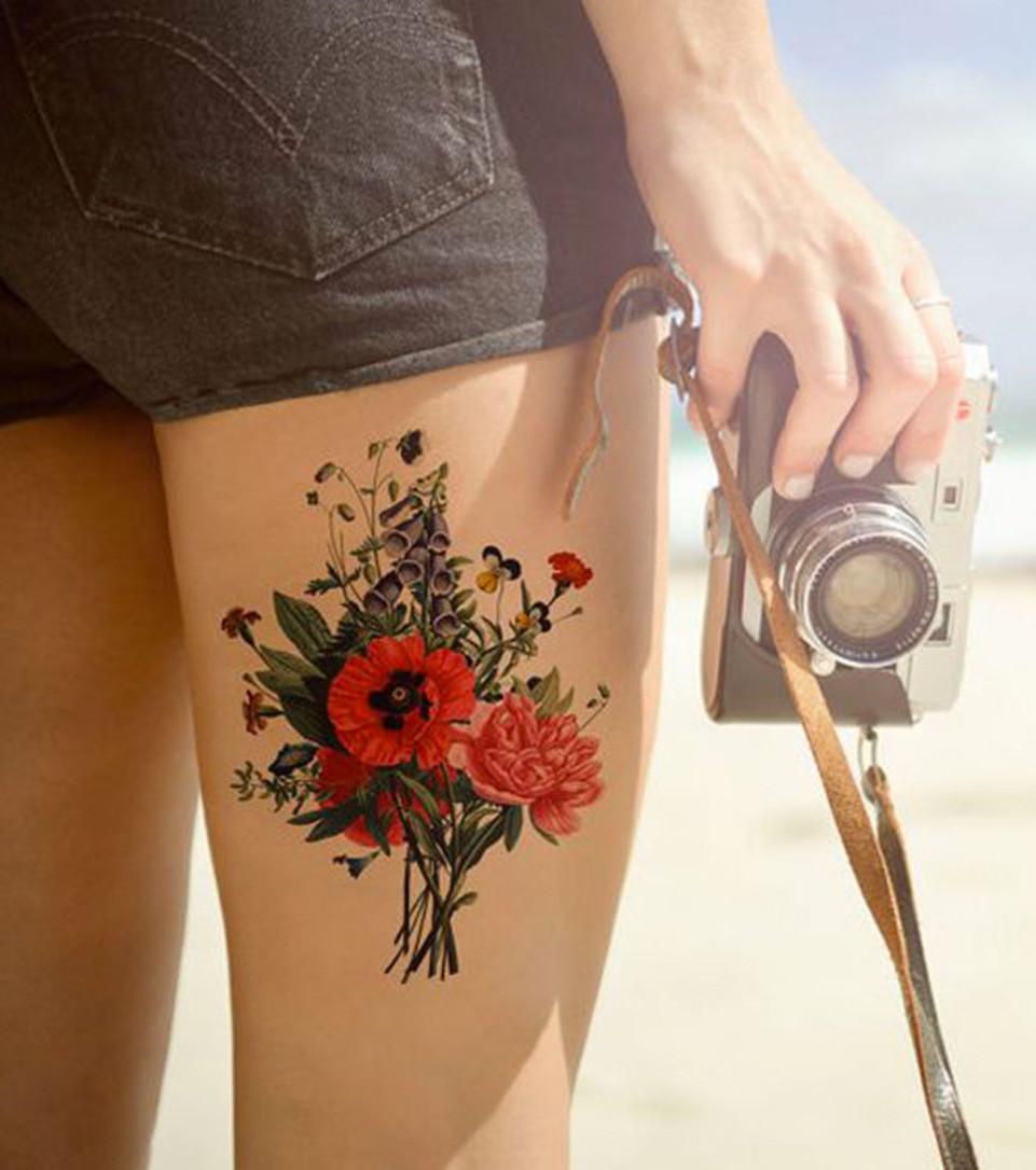 Old-School-Tattoo: 20 vintage Tattoo-Ideen für Frauen