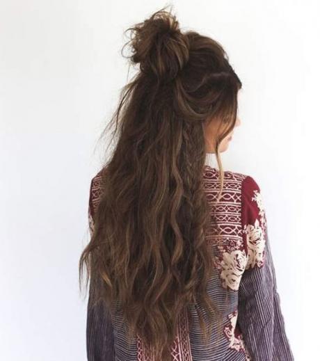 Frisuren für lange Haare: 20 Ideen