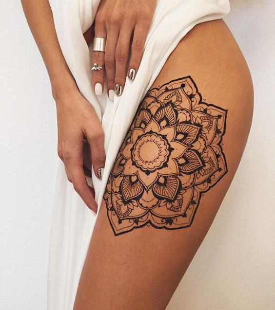 Mandala-Tattoo: 20 Tattoo-Ideen für alle Körperpartien