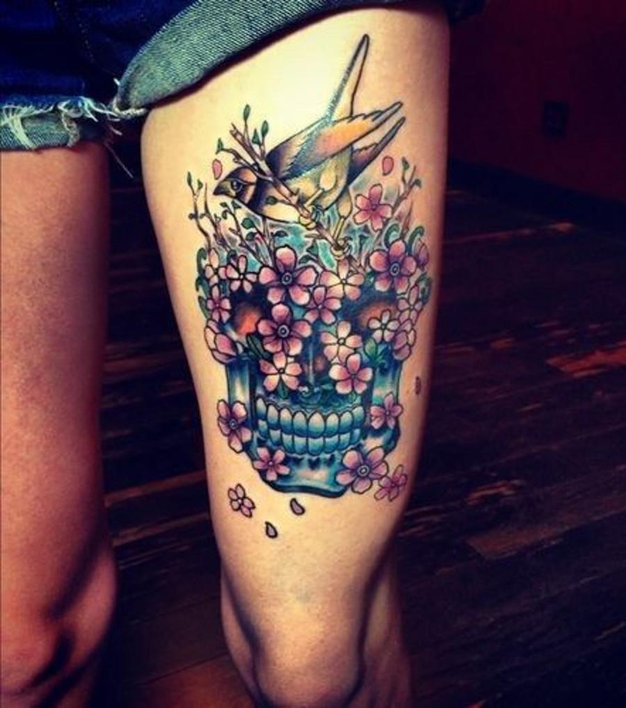 Mexikanisches Totenkopftattoo: 20 Tattoo-Ideen zur Inspiration
