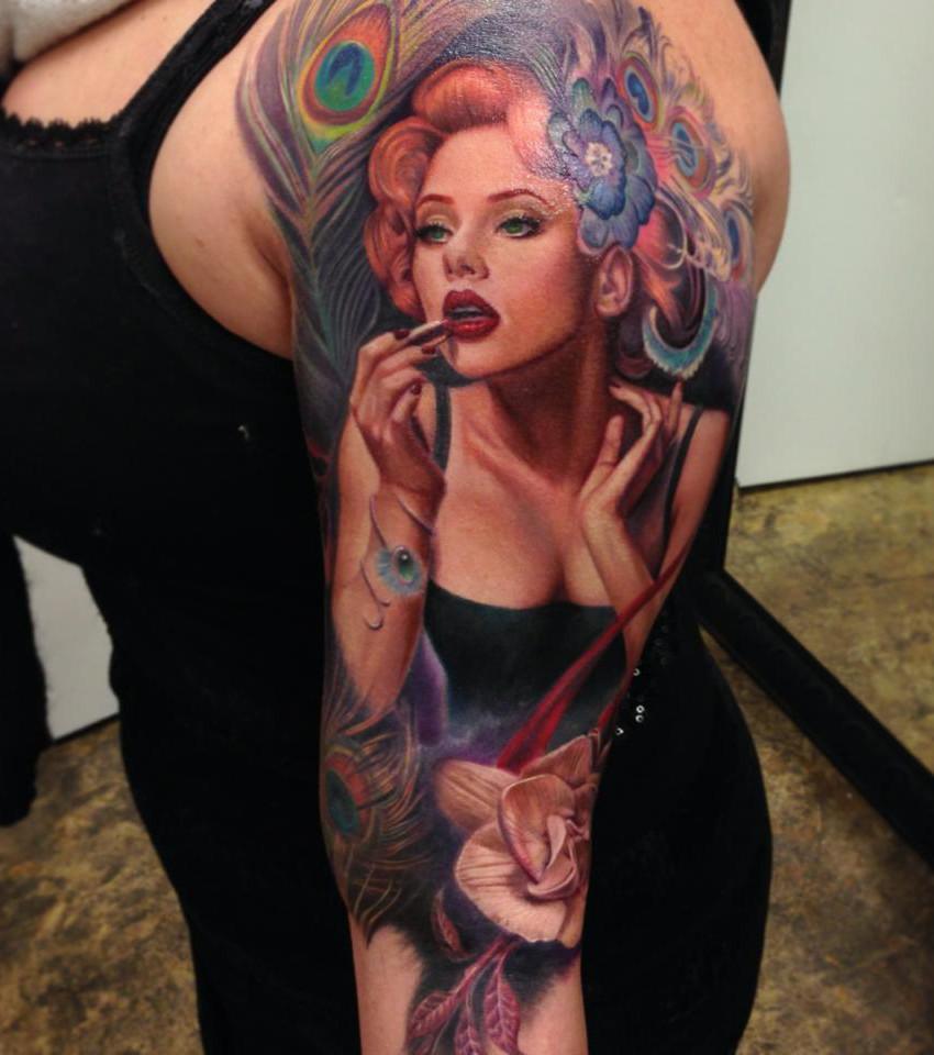 Pin-up-Tattoo: 20 sexy Tattoo-Ideen für alle Körperstellen