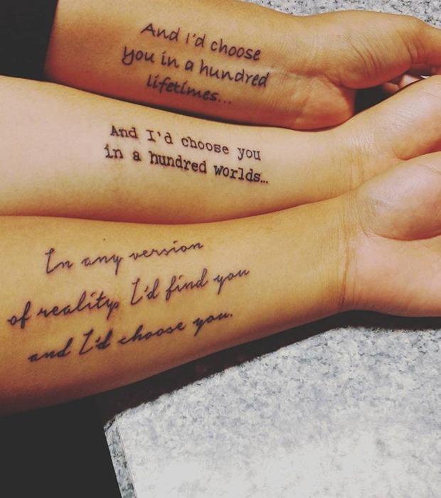 wundersch ne geschwister tattoos die wirklich unter die haut gehen