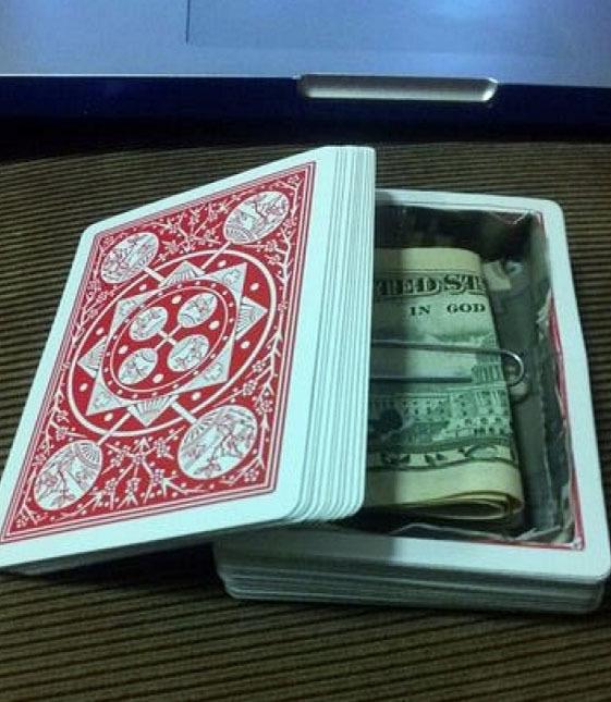 Wo Ist Das Gehirn Kartenspiel Buecherde: Die 15 Sichersten Geldverstecke Für Zuhause Und Unterwegs