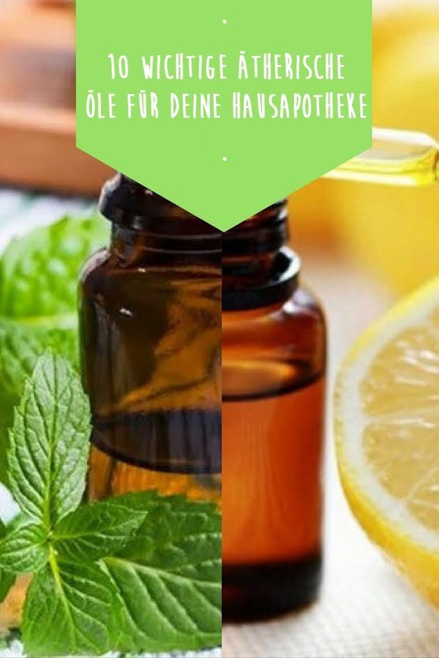 Ätherische Öle: Lerne 10 ätherische Öle und ihre Wirkung kennen