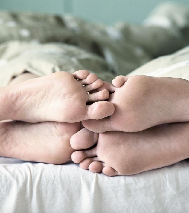 Matratzensport: Stellungen, bei denen die Pfunde purzeln