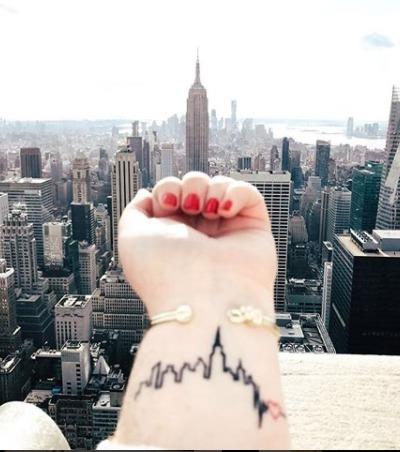 Tattoos: 20 Motive für Reise-Liebhaber