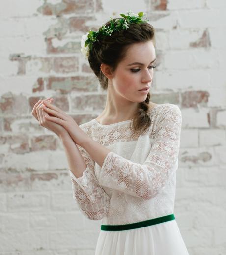 Hochzeitsdekoration: Tipps, wie ihr die Trendfarbe Greenery einbauen könnt