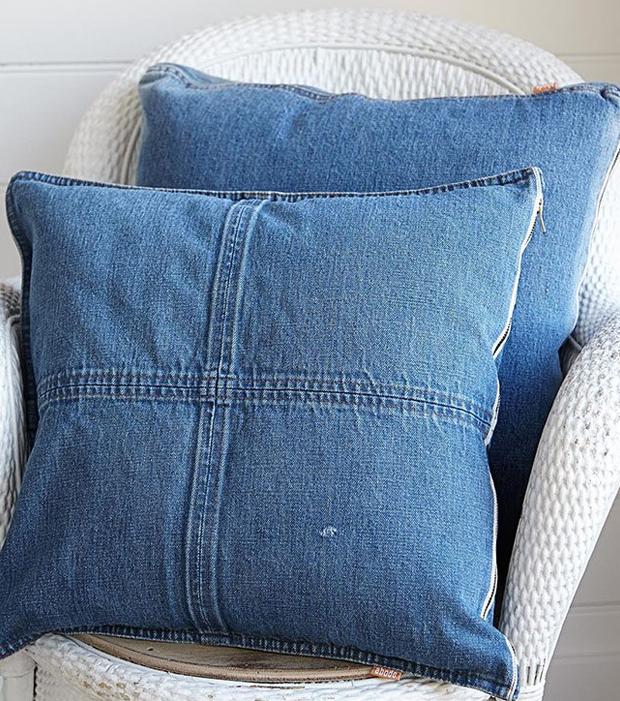 Mit diesen DIY-Ideen kannst du aus deinen alten Jeans noch etwas Schönes zaubern!