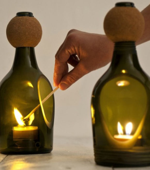 Upcycling:10 kreative Ideen, alte Glasflaschen wiederzuverwerten