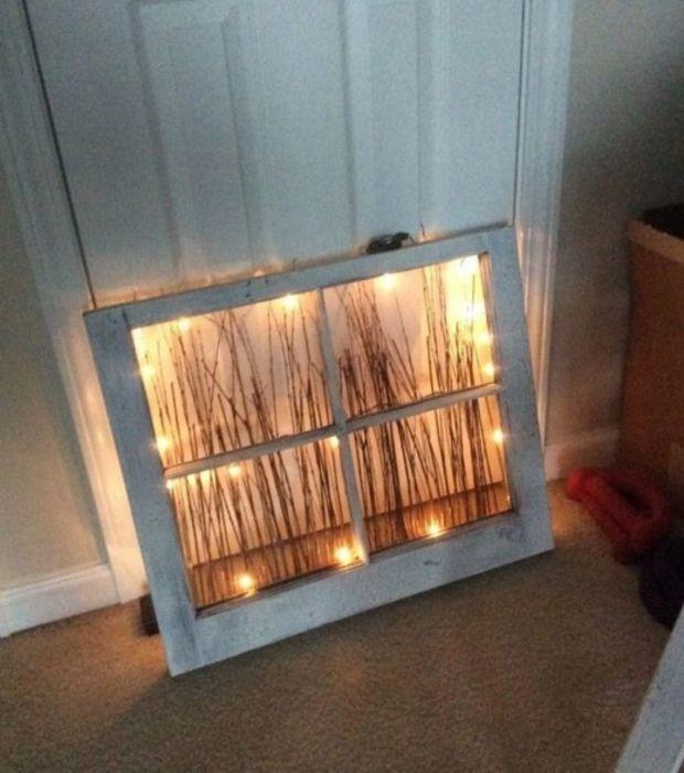 20 gute ideen was man mit alten fenstern so alles machen kann. Black Bedroom Furniture Sets. Home Design Ideas
