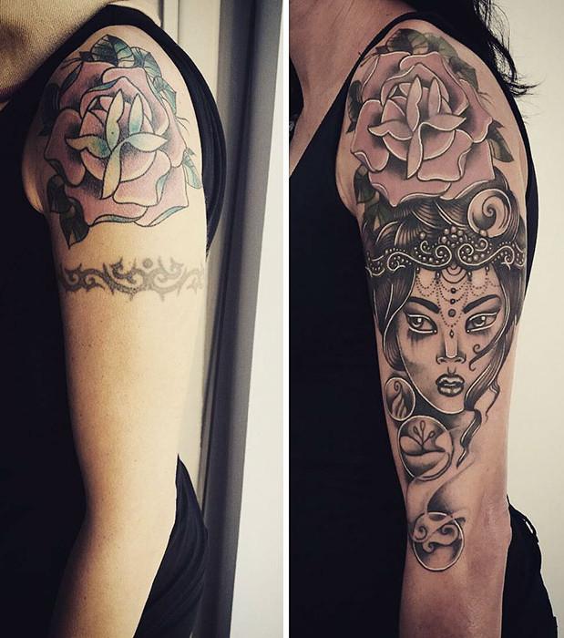 Misslungene Tattoos