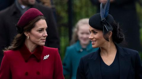 Royale Rivalinnen: Meghan Markle beneidet Kate Middleton aus diesem Grund