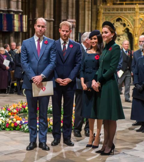 Kate Middleton und Prinz William: Darum gehen sie auf Abstand zu Prinz Harry und Meghan Markle