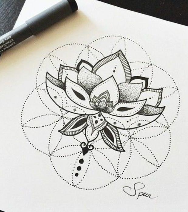 Tattoo-Zeichnung: 20 gezeichnete Motiv-Ideen zur Inspiration