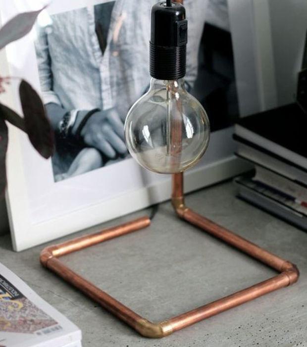 10 Möglichkeiten, Kupferrohre als dekorative Einrichtungsgegenstände zu nutzen