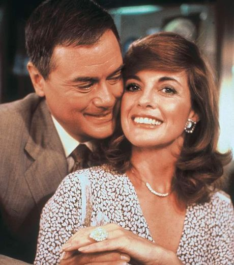 J.R (Harry Lagman) und Sue Ellen (Linda Grey), das legendäre Paar!