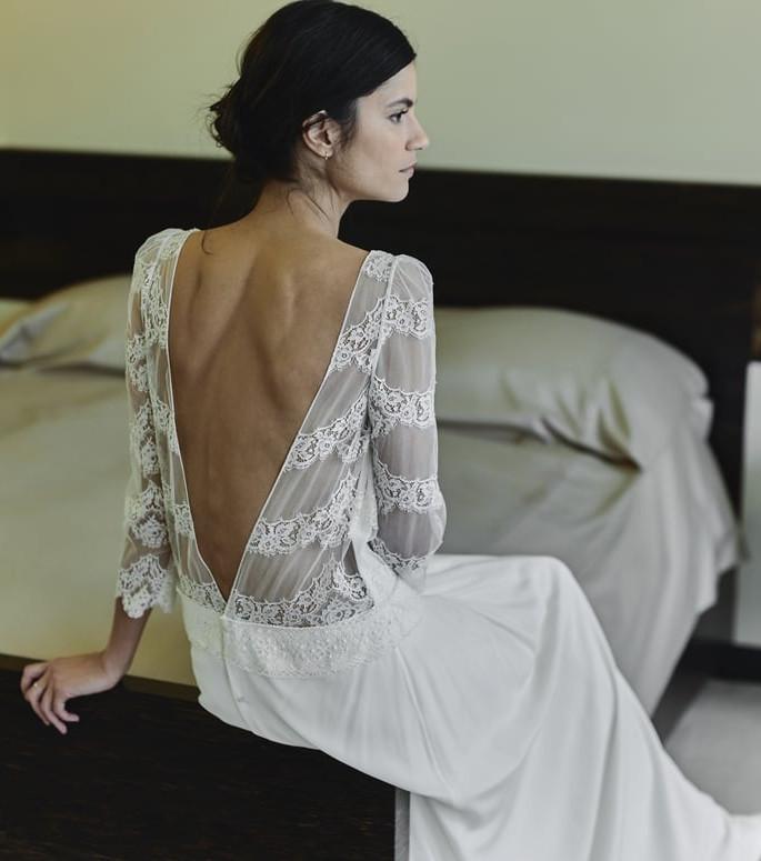 Laure de Sagazan Kollektion 2018 - Hochzeitskleid Modell Gibson