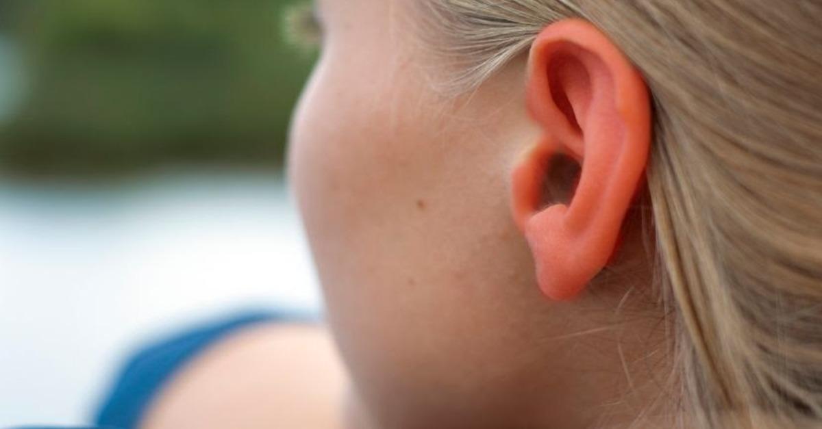 Rote Ohren