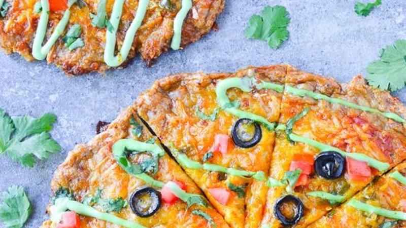 Low-Carb-Pizza für alle, die leicht aber genussvoll essen wollen