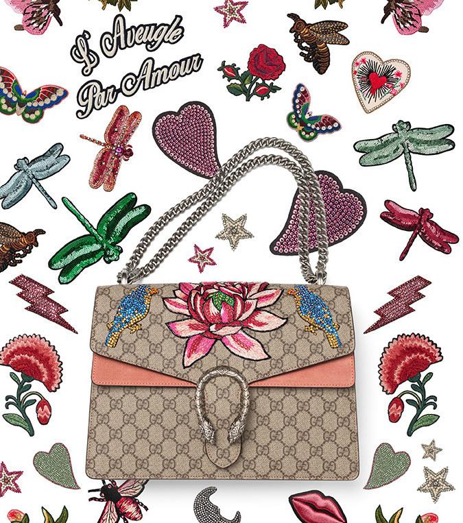 Die Gucci Tasche Dionysus, Hit des Jahres 2016! Für 3.500 Euro lässt sie sich sogar nach Wunsch personalisieren
