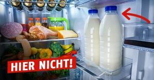 Kühlschrank Aufbewahrung : Aufbewahrung von milch im kühlschrank es gibt nur einen richtigen ort