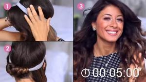 Machen Sie Sich Fantastische Locken Mit Einem Einfachen Haarband